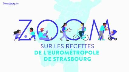 Les recettes   Débat d'Orientation Budgétaire Eurométropole de Strasbourg   Partie 4