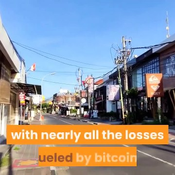 Bitcoin Losses Near $200 Billion As JPMorgan Warns It's The 'Least