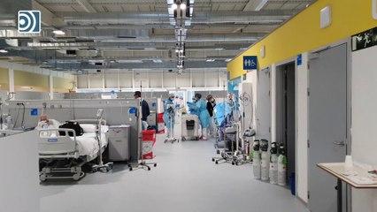 El Hospital Isabel Zendal por dentro