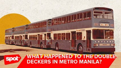 Did You Know That Metro Manila Used to Have Double-Decker Buses?