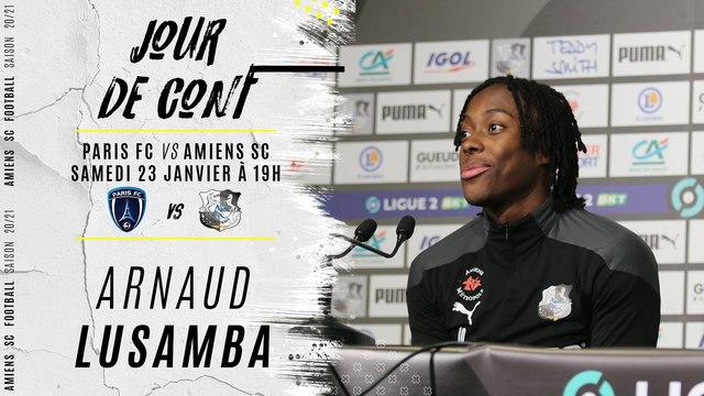 Jour de conf' Paris FC - ASC : Arnaud Lusamba