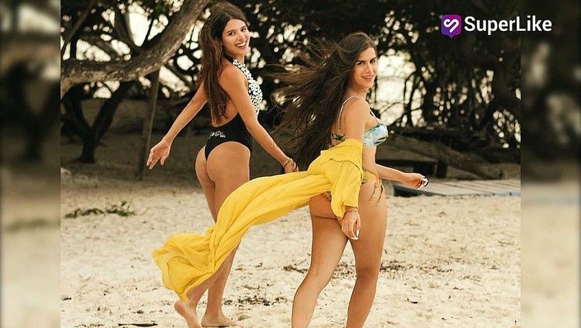 Besándose y sin ropa, así se mostraron Mara y Bella Castiblanco en la playa