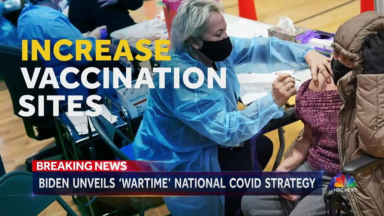 Biden Signs Executive Orders To Fight Coronavirus Pandemic _ NBC Nightly News