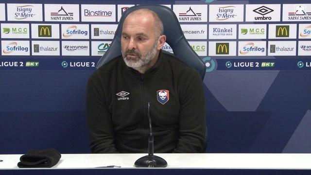 J21 Ligue 2 BKT : La conférence de presse avant SMCaen / Rodez AF