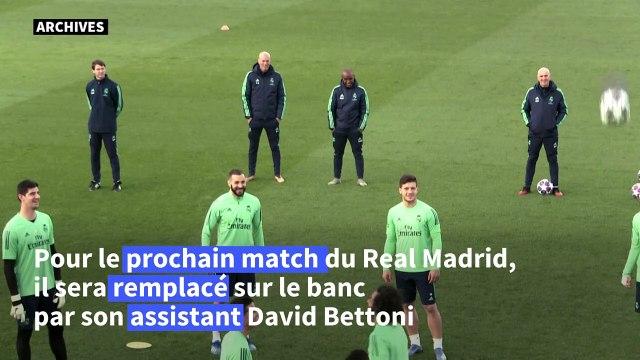 Football : Zinédine Zidane positif au Covid-19