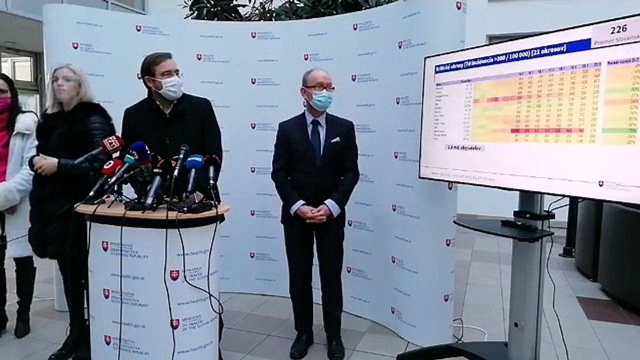 ZÁZNAM: TK ministra zdravotníctva SR Mareka Krajčího
