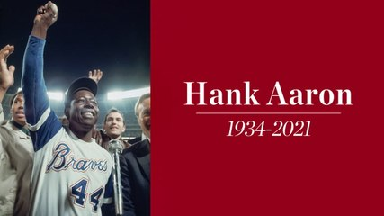 Hall of Famer and Baseball Legend Hank Aaron Dies at 86