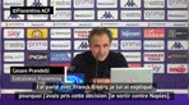 """19e j. - Prandelli : """"Ribéry est un champion"""""""