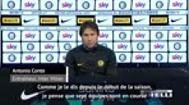 """19e j. - Conte : """"Sept équipes se disputeront le titre jusqu'à la fin de la saison"""""""