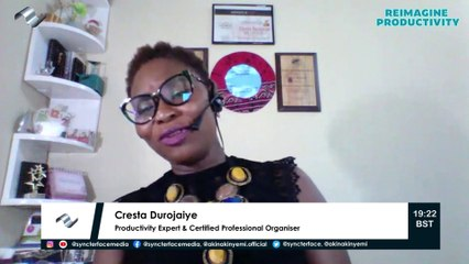 Genuine desire for growth without action does not deliver change - Cresta Durojaiye