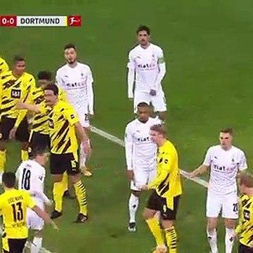 Borusia dotmund vs M'gladbach [haland score twice] highlights