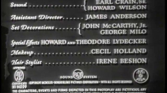 Borderline (1950) [Crime] [Drama] [Romance] part 1/2