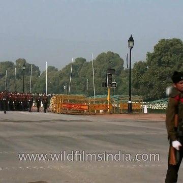 Beru Pako _ Kumaoni - Garhwali hill tune at India Republic Day parade rehearsal in Delhi