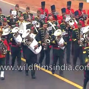 Madras Engineers_ best marching contingent in Republic Day parade
