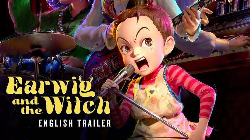 EARWIG AND THE WITCH Trailer (2021)