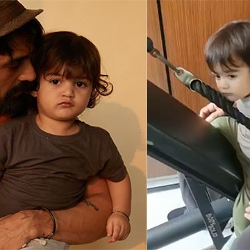 Arjun Rampal Working Out With 1-Year-Old Son Is So Cute