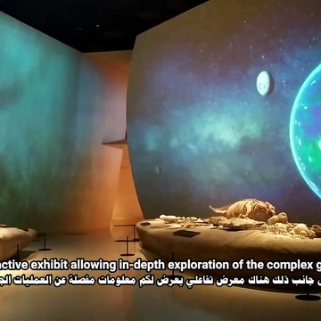 National Museum of Qatar The Formation of Qatar gallery #1 Full view