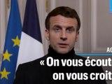 Violences sexuelles sur mineurs : Macron veut «adapter notre droit» pour punir les agresseurs