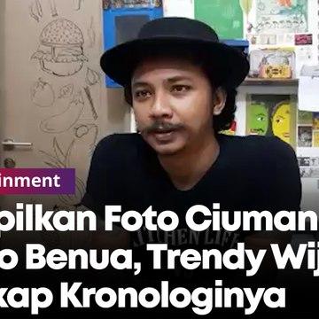 Soal Foto Ciuman Pablo Benua, Begini Kronologis Wawancara Trendy Wijaya dengan Rey Utami