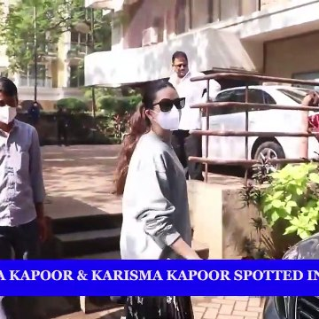 Kareena Kapoor and Karisma Kapoor spotted in Bandra