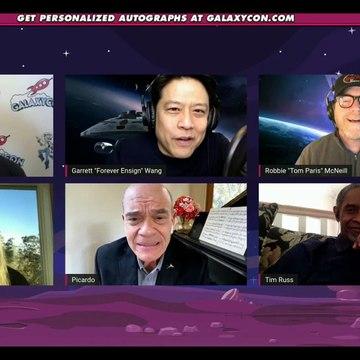 GalaxyCon Live Comic-Con Star Trek Voyager actors Kate Mulgrew, Garrett Wang, Robert Duncan McNeil, Robert Picardo and Tim Russ January 2021