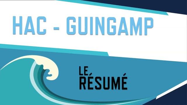 HAC - Guingamp (0-0) : le résumé du match