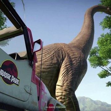 Jurassic World Evolution- Return to Jurassic Park - Official Cinematic Announcement Trailer - X019