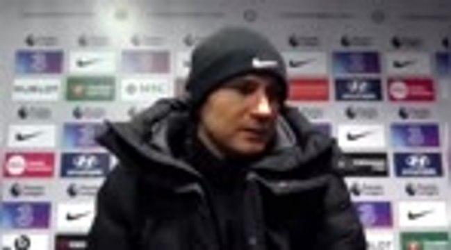 """Chelsea - Lampard : """"Les gens attendent qu'on ait des bons résultats"""""""