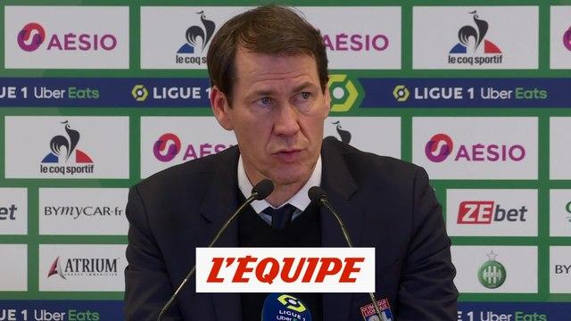 Galtier : « On a mis du coeur, c'est ce qui compte dans un derby » - Foot - L1 - OL