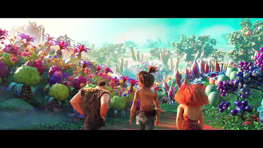 THE CROODS 2- A NEW AGE Clip - -Together Again