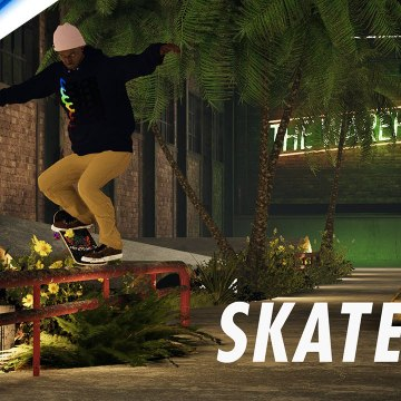 Skater XL - The Warehouse by Yaky Available Now - PS4