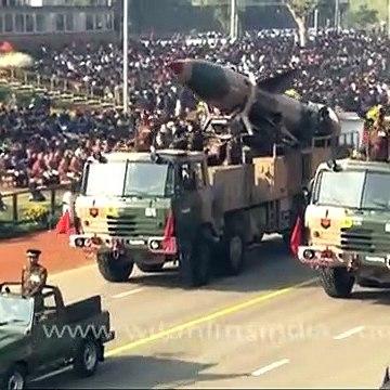 India flaunts Prithvi & Agni-I missiles at Republic Day Parade