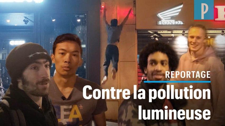 Des commandos «Lights off» la nuit à Paris : «Eteignez vos lumières, sinon on le fera pour vous»