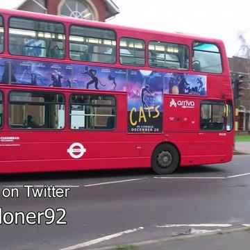 Buses in Rainham, Greater London - January 2020
