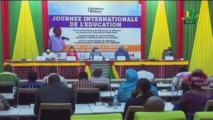 RTB/ Célébration de la journée internationale de l'éducation organisée par l'ONG Canadienne Children Believe