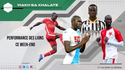 #WakhSaKhalate Performance des lions ce week-end