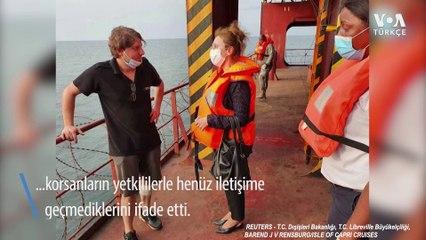 Kaçırılan Geminin Mürettebatını Kurtarmak İçin Çalışmalar Sürüyor