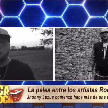 La pelea entre los artistas Rocko y Jhonny Lexus se reactiva