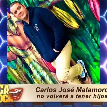 Carlos José Matamoros no tendrá más hijos: se hará la vasectomía