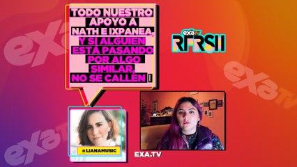 Ixpanea contó su experiencia con Yayo Gutiérrez y Nath Campos expuso a Rix / EXA TV