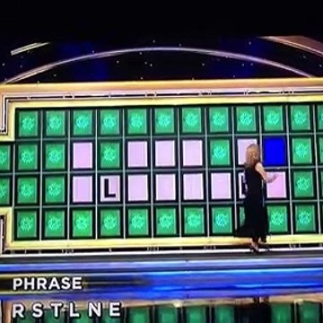 Celebrity Wheel of Fortune: Million Dollar Bonus Round #1 (1/21/21)