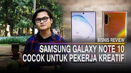 Menjajal Kemampuan Videografi Samsung Galaxy Note 10