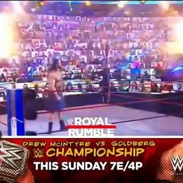 WWE RAW 25 JANUARY 2021 FULL HIGHLIGHTS HD - WWE RAW FULL HIGHLIGHTS 01_25_2021