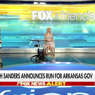 Sarah Sanders running for governor of Arkansas