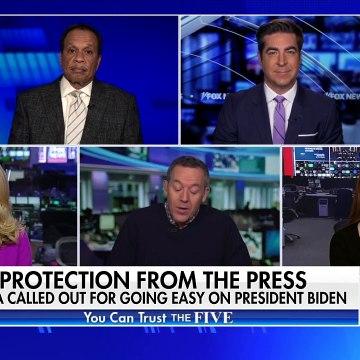 Gutfeld on the media going easy on President Biden