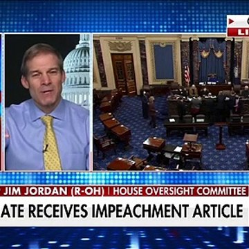 Jim Jordan Case for impeaching Trump is 'just ridiculous'