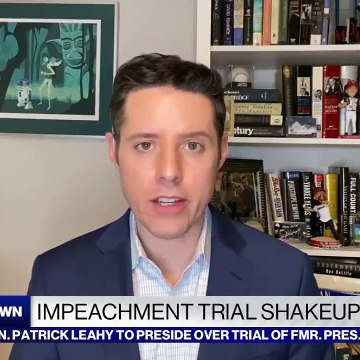Impeachment trial shake-up