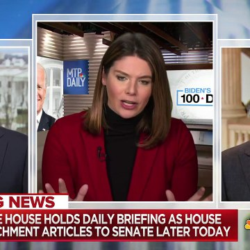 Sen. Leahy Expected To Preside Over Trump Impeachment Trial