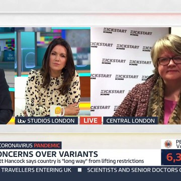 Government Minister Walks Out of GMB Interview on COVID Death Rates  Good Morning Britain