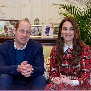 The Duke & Duchess of Cambridge make surprise appearance for Burns Night